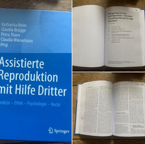 Veröffentlichung im Springer Verlag zum Kinderwunsch mithilfe einer Eizellspende